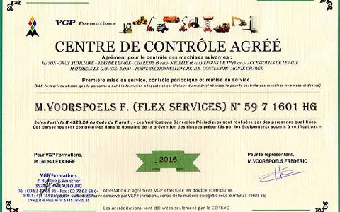 Centre de contrôle agréé vérifications générales périodiques à Cambrai