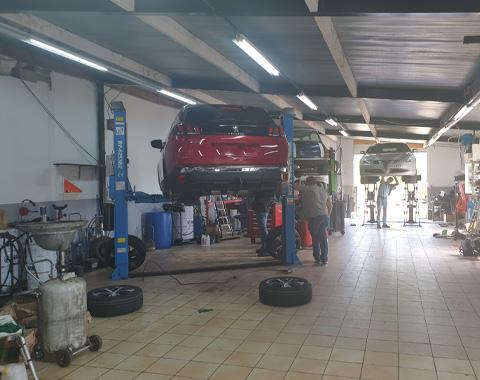 Réparation garage automobile